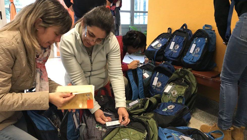 Biblioteca Móvil Fundación E.dúcate - Capilla del Sauce - Resiembra 2018
