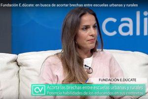 Teledoce: La Fundación E.dúcate: en busca de acortar brechas entre escuelas urbanas y rurales